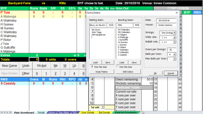 Excel scorebook integration (optional) | Build Your Own
